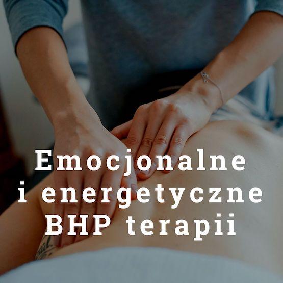 Emocjonalne i energetyczne BHP terapii - Antoni Przechrzta