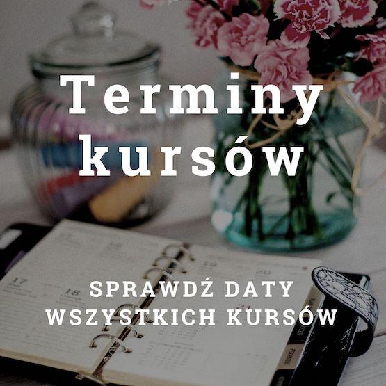 Terminy kursów - Antoni Przechrzta